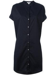 платье-рубашка  James Perse
