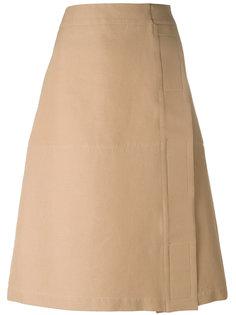 юбка миди А-образного силуэта Marni