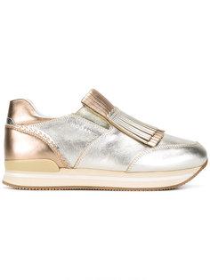 кроссовки с баромой Hogan