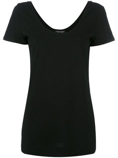 футболка с вырезом-ковш Twin-Set