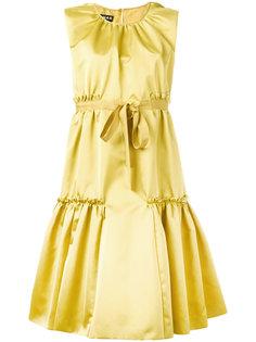 расклешенное платье с завязками  на бант Rochas