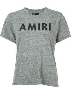 футболка с принтом логотипа Amiri