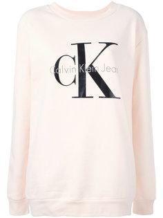 толстовка с принтом логотипа  Calvin Klein Jeans