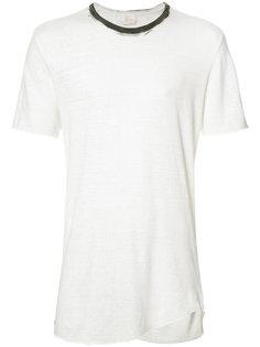 футболка с контрастным вырезом Lost & Found Ria Dunn