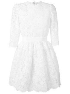 кружевное мини-платье  Alexander McQueen
