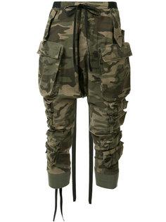 камуфляжные брюки Unravel Project