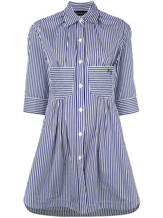 полосатое платье-рубашка Rossella Jardini