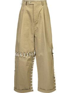 широкие брюки со шнуровкой Craig Green