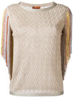 блузка с бахромой  Missoni