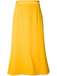 расклешенная юбка с поясом Le Ciel Bleu
