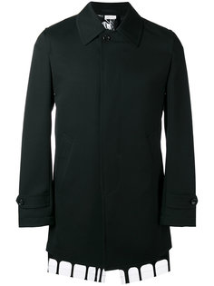 однобортное пальто Comme Des Garçons Homme Plus