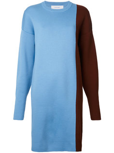 платье дизайна колор-блок Le Ciel Bleu