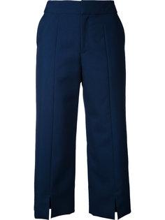 укороченные брюки прямого кроя Le Ciel Bleu