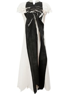асимметричное платье миди Aganovich