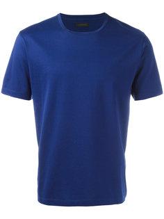 однотонная футболка Z Zegna