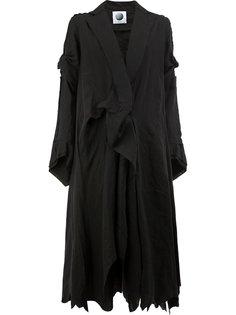 пальто свободного кроя Aganovich