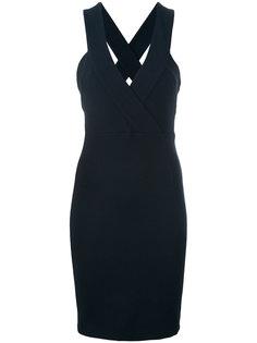 платье с V-образным вырезом Pierre Balmain