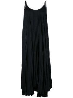 длинное платье на бретелях Twin-Set