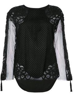 сетчатая блузка  Twin-Set