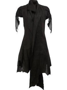 асимметричный пиджак с лацканами-шалькой Aganovich