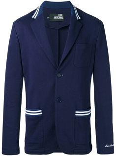 пиджак с застежкой на две пуговицы Love Moschino