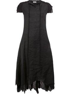 платье с короткими рукавами Aganovich