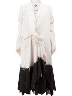 асимметричное пальто миди Aganovich
