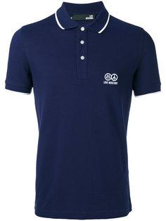 классическая футболка-поло Love Moschino