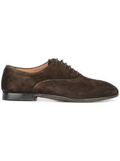 ботинки-дерби с округлым носом Silvano Sassetti