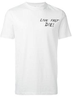 футболка Live Fast Die! McQ Alexander McQueen