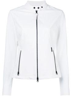 байкерская куртка с контрастной отделкой Woolrich