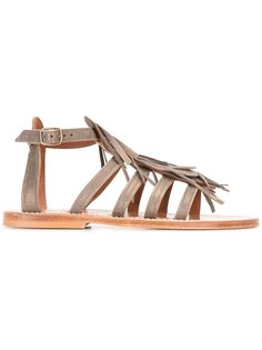 fringed sandals K. Jacques