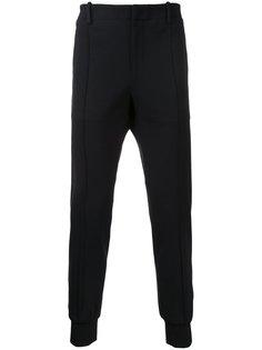 спортивные брюки с отделкой в рубчик Wooyoungmi