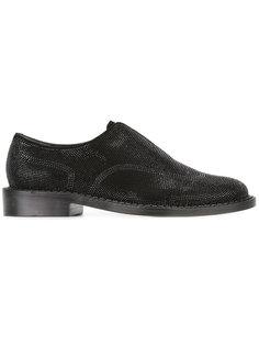 ботинки с фактурной поверхностью Robert Clergerie