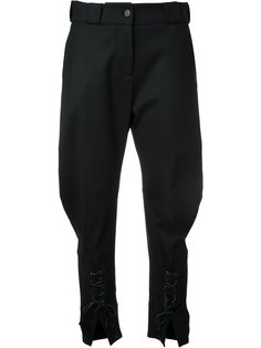 брюки со шнуровкой Monse