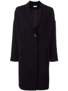 пальто с карманами с клапанами Alberto Biani