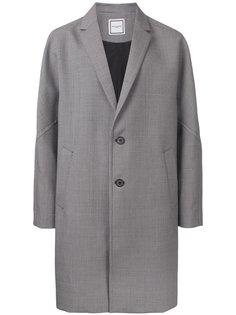 пальто в ломаную клетку Wooyoungmi