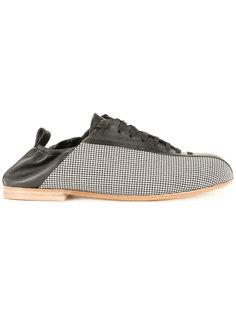 кроссовки с панельным дизайном Wooyoungmi