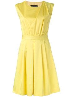 платье со складками на плечах Boutique Moschino