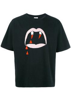 футболка с принтом Blood Luster  Saint Laurent