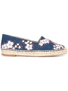 эспадрильи с цветочной вышивкой Stella McCartney