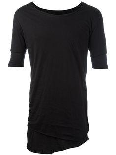 многослойная футболка с необработанным подолом Thom Krom