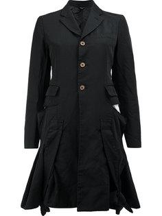flared buttoned jacket Comme Des Garçons
