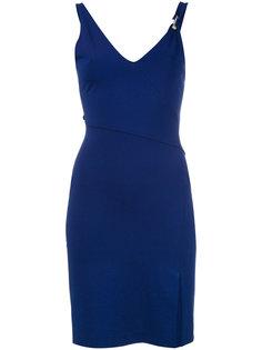 платье с лямкой-подтяжкой Versus