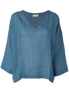 блузка с V-образным вырезом Masscob