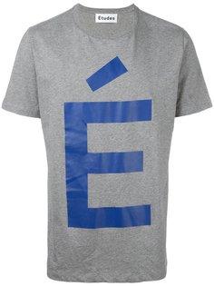 футболка Page Accent Études
