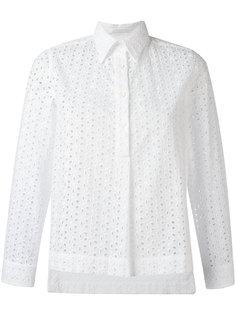 рубашка с вышивкой Peter Jensen