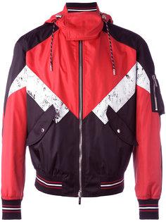куртка дизайна колор-блок Dior Homme