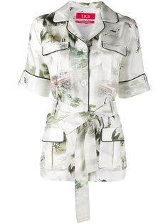 пижамная рубашка с Японским принтом For Restless Sleepers