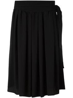 юбка длины миди с завязками Nº21